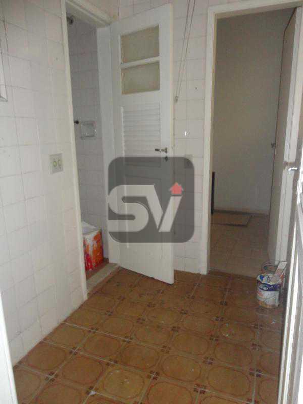 Área de serviço - Apartamento Rio de Janeiro,zona sul,Flamengo,RJ Para Alugar,3 Quartos,110m² - VIAP30253 - 16