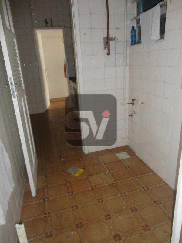 Área de serviço - Apartamento Rio de Janeiro,zona sul,Flamengo,RJ Para Alugar,3 Quartos,110m² - VIAP30253 - 17