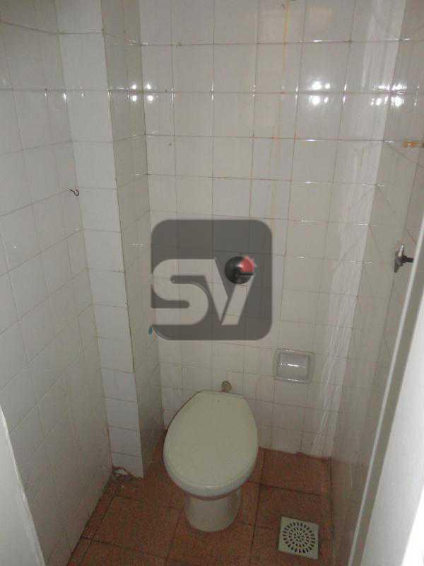 Banheiro de empregada - Apartamento Rio de Janeiro,zona sul,Flamengo,RJ Para Alugar,3 Quartos,110m² - VIAP30253 - 20