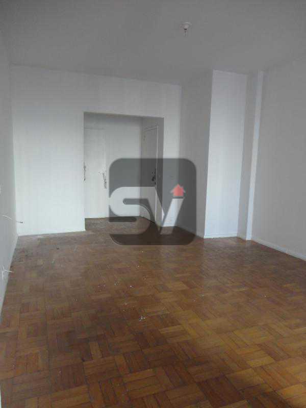 Sala - Apartamento Rio de Janeiro,zona sul,Flamengo,RJ Para Alugar,3 Quartos,110m² - VIAP30253 - 1