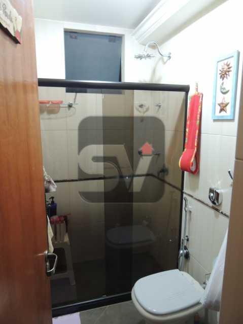 Banheiro Social - Apartamento Rio de Janeiro,zona sul,Flamengo,RJ À Venda,3 Quartos,113m² - VIAP30259 - 8