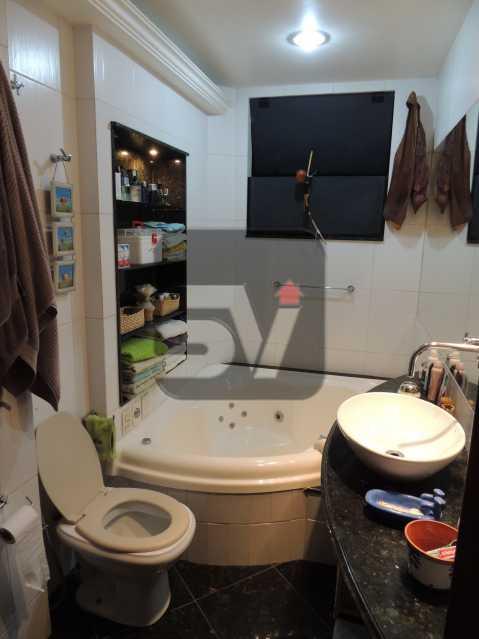 Banheiro Suíte - Apartamento Rio de Janeiro,zona sul,Flamengo,RJ À Venda,3 Quartos,113m² - VIAP30259 - 13