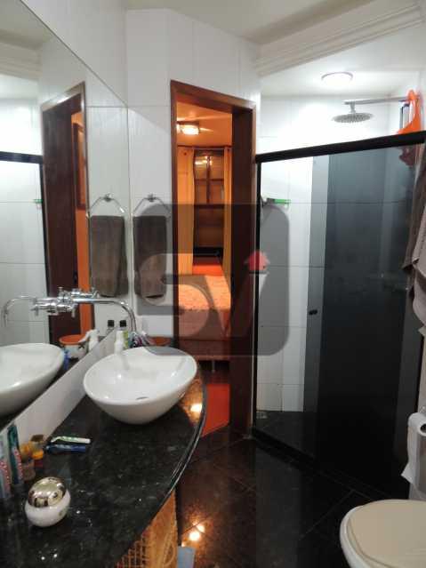 Banheiro Suíte - Apartamento Rio de Janeiro,zona sul,Flamengo,RJ À Venda,3 Quartos,113m² - VIAP30259 - 14