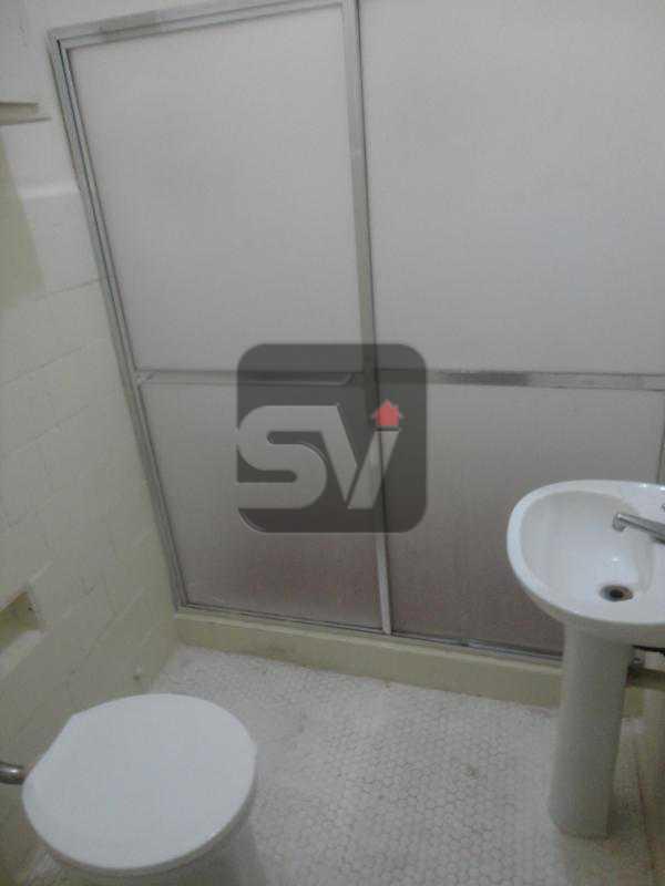 Banheiro social - Reformado. Ponto Nobre. Flamengo. 1 Quarto. - VIAP10169 - 4