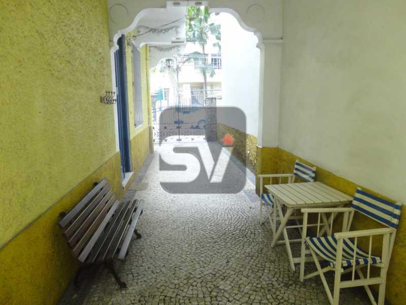 Área externa  - Casa Comercial À Venda - Rio de Janeiro - RJ - Flamengo - VICC40001 - 23
