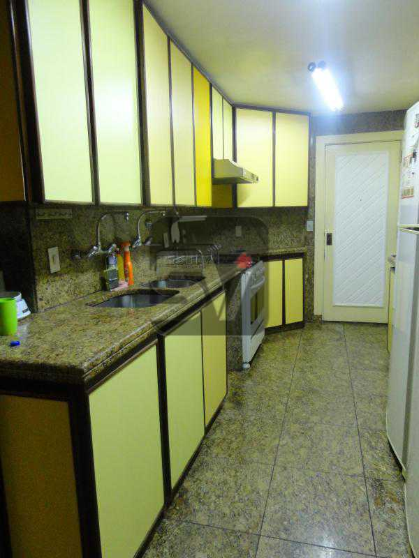 Cozinha 1º andar - Magnífico apartamento duplex. 3 SUÍTES. Varanda. 2 Vagas - VIAP30275 - 7