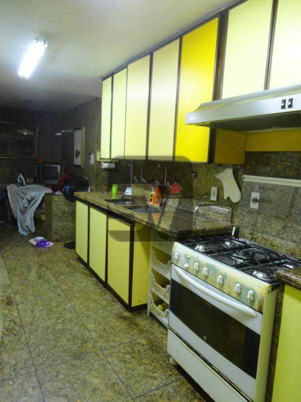 Cozinha 1º andar - Magnífico apartamento duplex. 3 SUÍTES. Varanda. 2 Vagas - VIAP30275 - 6