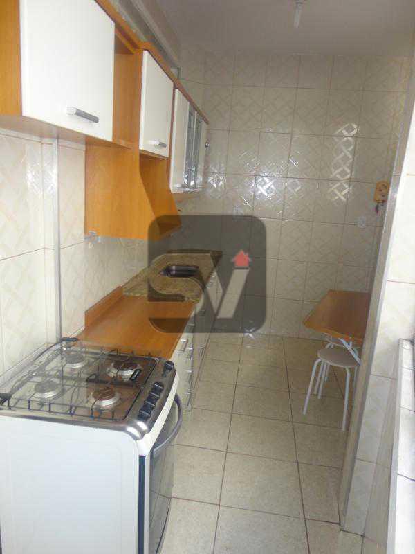 Cozinha - 2 quartos. Silencioso. Ponto nobre. Vaga Marcada. Flamengo. - VIAP20026 - 13