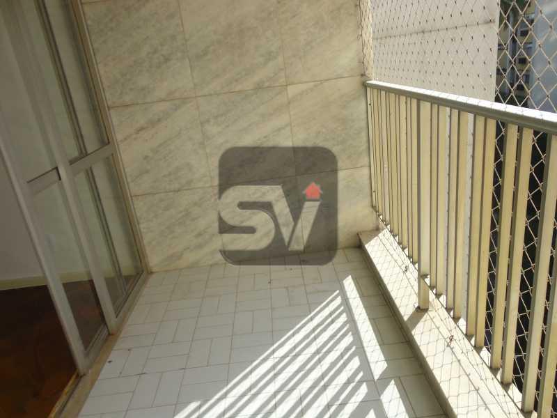 Varanda - Isento de IPTU. Varanda. 2 por andar. Ponto Nobre. Flamengo. 3 Quartos - SVAP30001 - 5