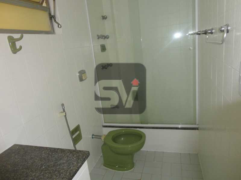 Banheiro Social - Isento de IPTU. Varanda. 2 por andar. Ponto Nobre. Flamengo. 3 Quartos - SVAP30001 - 7