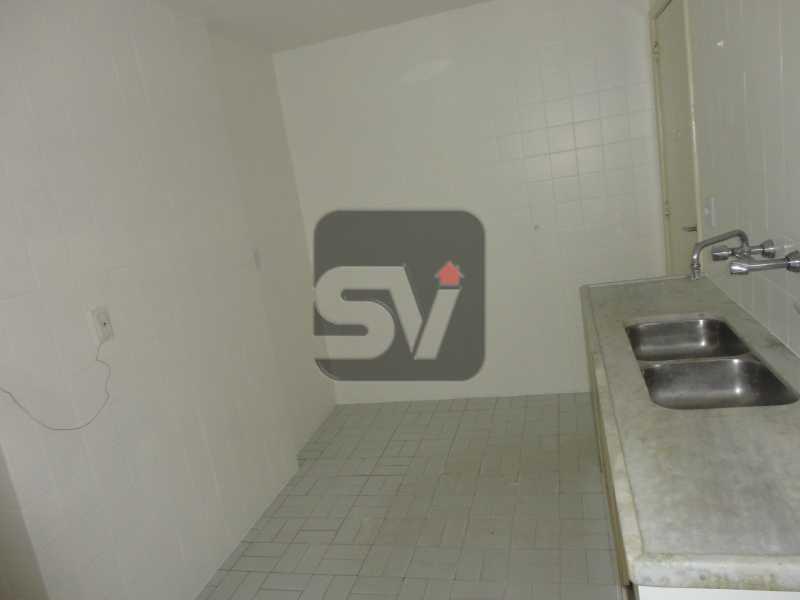 Cozinha - Isento de IPTU. Varanda. 2 por andar. Ponto Nobre. Flamengo. 3 Quartos - SVAP30001 - 18
