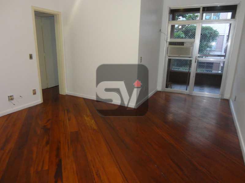 Sala - 2 vagas Botafogo Reformado. 2 Quartos. Varanda - SVAP20001 - 1