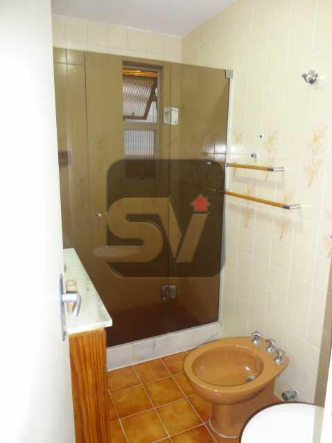 Banheiro/ social - 2 vagas Botafogo Reformado. 2 Quartos. Varanda - SVAP20001 - 6