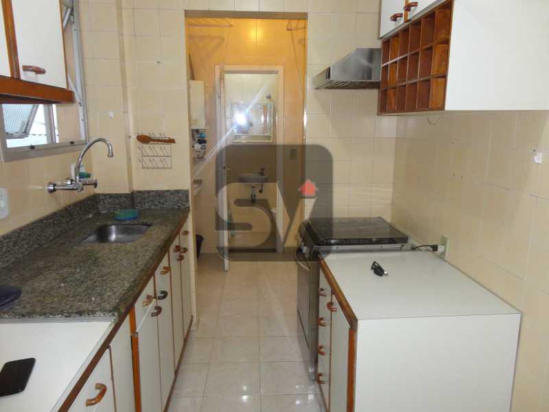 Cozinha Planejada - 2 vagas Botafogo Reformado. 2 Quartos. Varanda - SVAP20001 - 11