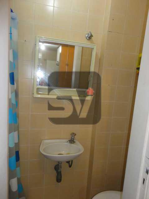 Banheiro empregada - 2 vagas Botafogo Reformado. 2 Quartos. Varanda - SVAP20001 - 15