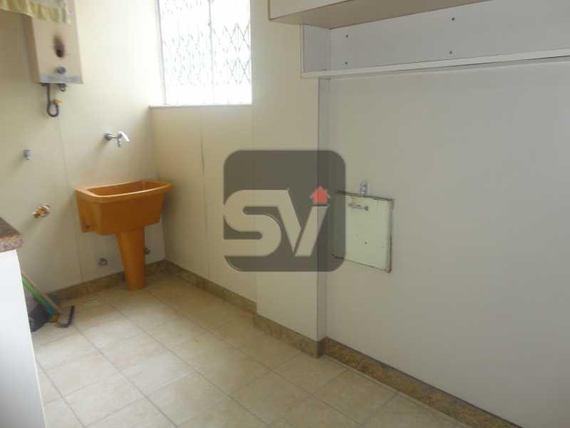 Área de serviço - Ótimo apartamento em ponto nobre de Ipanema,Posto 9, Quadra Praia, 3 quartos, 140 metros, 3 quartos, 2 suites,varandão acoplado a sala com 2 ambientes - SVAP30002 - 21