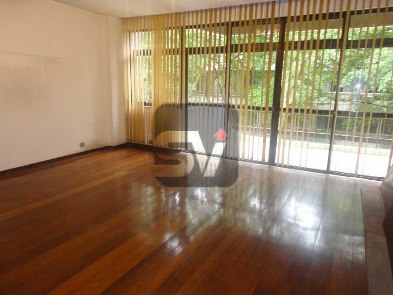 Sala - Ótimo apartamento em ponto nobre de Ipanema,Posto 9, Quadra Praia, 3 quartos, 140 metros, 3 quartos, 2 suites,varandão acoplado a sala com 2 ambientes - SVAP30002 - 3