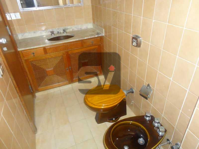Suíte 1 - Ótimo apartamento em ponto nobre de Ipanema,Posto 9, Quadra Praia, 3 quartos, 140 metros, 3 quartos, 2 suites,varandão acoplado a sala com 2 ambientes - SVAP30002 - 12