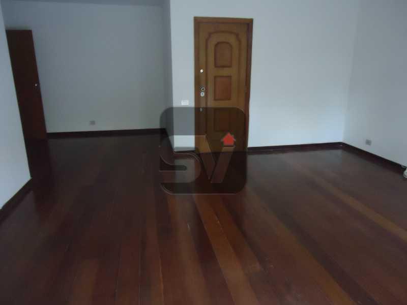 Sala - Ótimo apartamento em ponto nobre de Ipanema,Posto 9, Quadra Praia, 3 quartos, 140 metros, 3 quartos, 2 suites,varandão acoplado a sala com 2 ambientes - SVAP30002 - 5