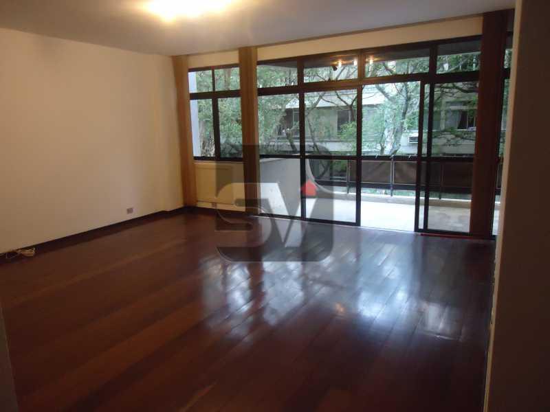 Sala - Ótimo apartamento em ponto nobre de Ipanema,Posto 9, Quadra Praia, 3 quartos, 140 metros, 3 quartos, 2 suites,varandão acoplado a sala com 2 ambientes - SVAP30002 - 4