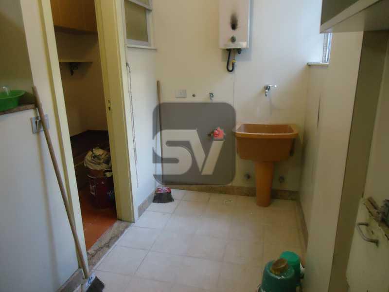 Área de serviço - Ótimo apartamento em ponto nobre de Ipanema,Posto 9, Quadra Praia, 3 quartos, 140 metros, 3 quartos, 2 suites,varandão acoplado a sala com 2 ambientes - SVAP30002 - 22
