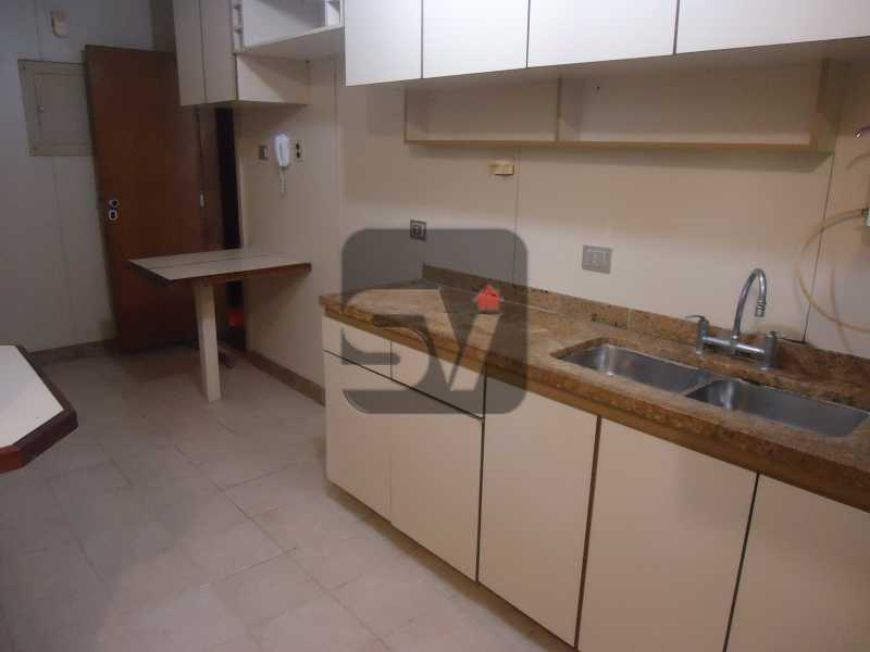 Cozinha - Ótimo apartamento em ponto nobre de Ipanema,Posto 9, Quadra Praia, 3 quartos, 140 metros, 3 quartos, 2 suites,varandão acoplado a sala com 2 ambientes - SVAP30002 - 20
