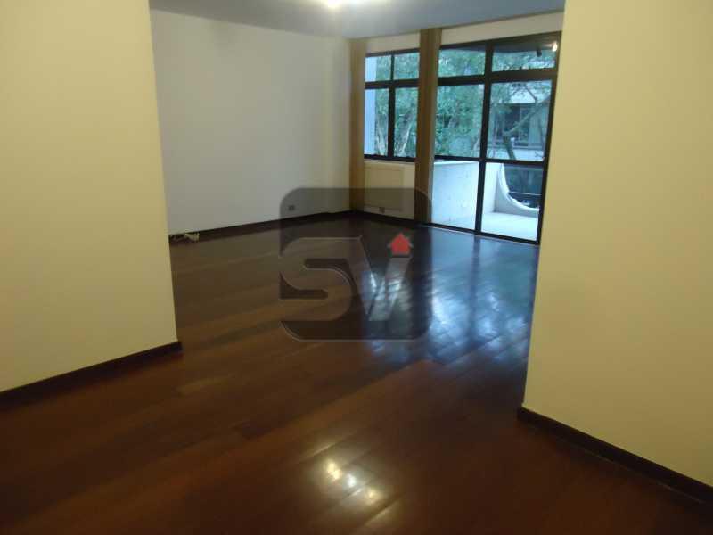 Sala - Ótimo apartamento em ponto nobre de Ipanema,Posto 9, Quadra Praia, 3 quartos, 140 metros, 3 quartos, 2 suites,varandão acoplado a sala com 2 ambientes - SVAP30002 - 7