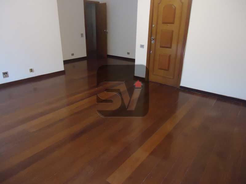 Sala - Ótimo apartamento em ponto nobre de Ipanema,Posto 9, Quadra Praia, 3 quartos, 140 metros, 3 quartos, 2 suites,varandão acoplado a sala com 2 ambientes - SVAP30002 - 6