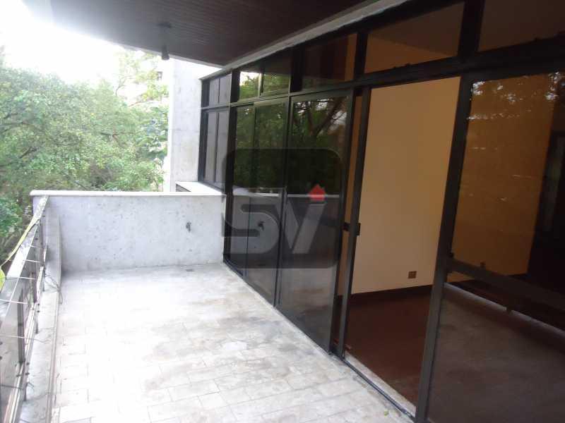 Varanda - Ótimo apartamento em ponto nobre de Ipanema,Posto 9, Quadra Praia, 3 quartos, 140 metros, 3 quartos, 2 suites,varandão acoplado a sala com 2 ambientes - SVAP30002 - 1