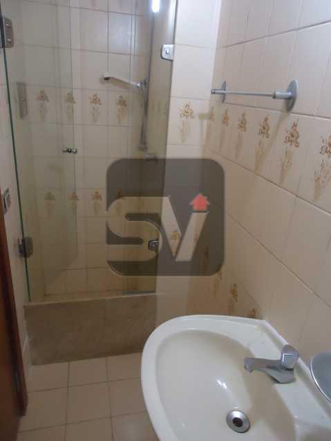 Banheiro social - Ótimo apartamento em ponto nobre de Ipanema,Posto 9, Quadra Praia, 3 quartos, 140 metros, 3 quartos, 2 suites,varandão acoplado a sala com 2 ambientes - SVAP30002 - 9