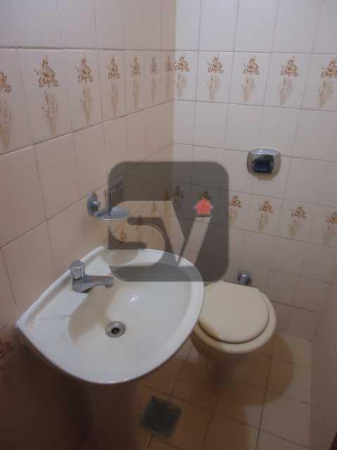 Banheiro social - Ótimo apartamento em ponto nobre de Ipanema,Posto 9, Quadra Praia, 3 quartos, 140 metros, 3 quartos, 2 suites,varandão acoplado a sala com 2 ambientes - SVAP30002 - 8