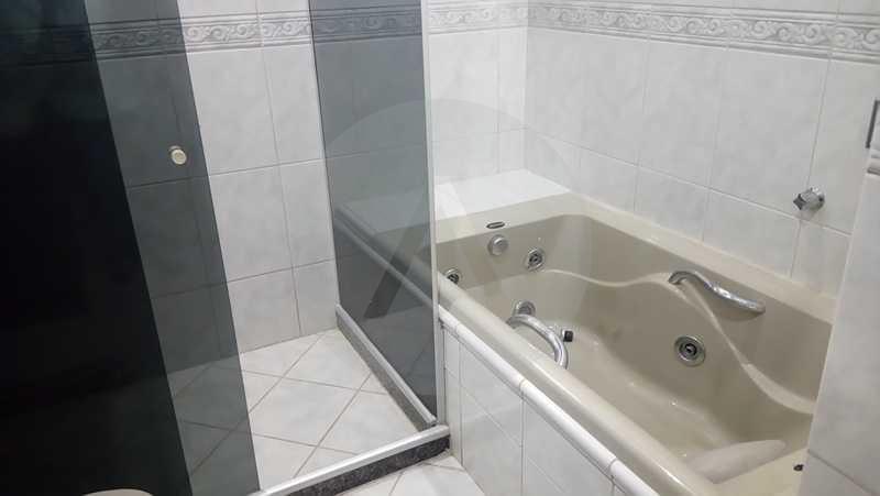 8 - Banheiro Social 1º Pav. - Agate imoveis vende casa em condominio Regiao Oceanica Itaipu Niteroi - HTCN50002 - 10