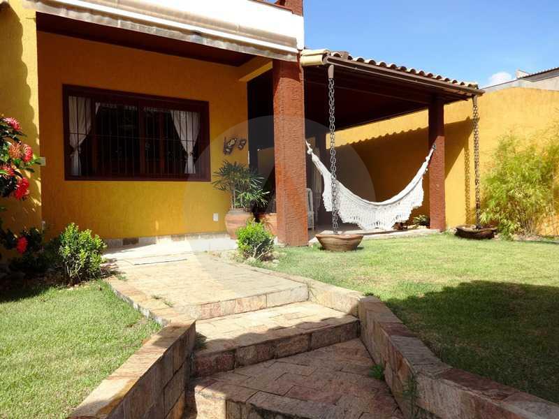 2 - Entrada - Imobiliária Agatê Imóveis vende Casa em Condomínio de 150 m² Itaipu - Niterói por 1.200.000, mil reais - HTCN40069 - 1