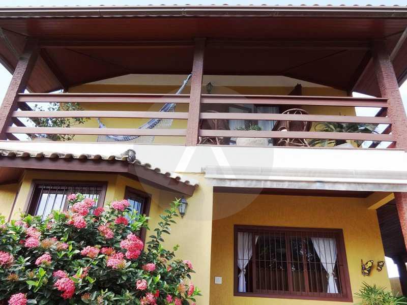 3 - Vista Frente - Imobiliária Agatê Imóveis vende Casa em Condomínio de 150 m² Itaipu - Niterói por 1.200.000, mil reais - HTCN40069 - 6