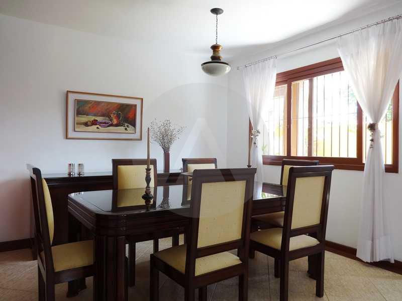 7 - Sala de Jantar - Imobiliária Agatê Imóveis vende Casa em Condomínio de 150 m² Itaipu - Niterói por 1.200.000, mil reais - HTCN40069 - 10