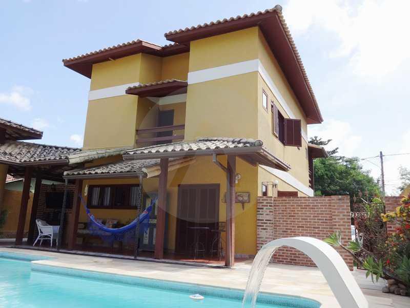 29 - Fachada Fundos - Imobiliária Agatê Imóveis vende Casa em Condomínio de 150 m² Itaipu - Niterói por 1.200.000, mil reais - HTCN40069 - 30