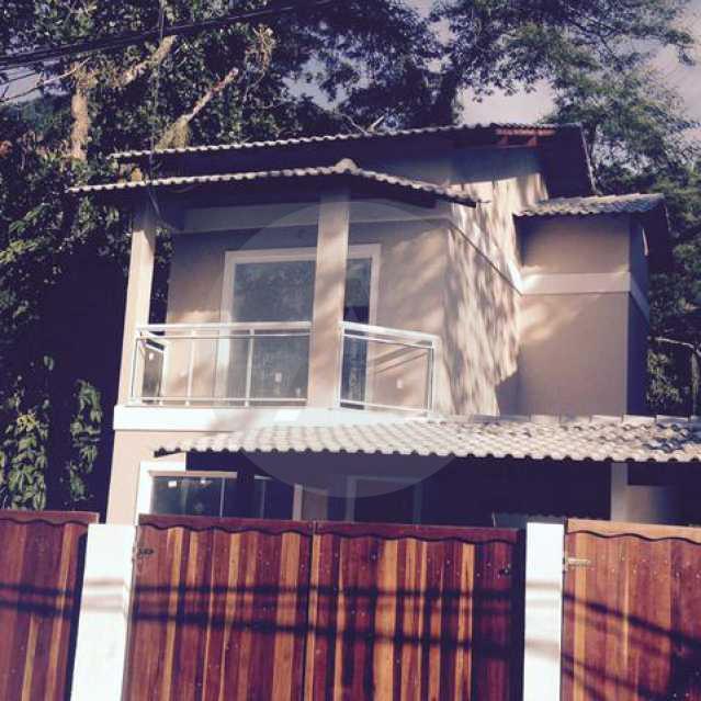 2 - Imobiliária Agatê Imóveis vende Casa Duplex de 140 m² Itaipu - Niterói por 375 mil reais. - HTCA30084 - 4