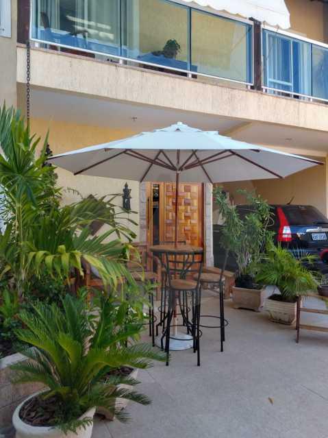 2 Casa Condomínio Itaipu - Imobiliária Agatê Imóveis vende ou permuta Casa em Condomínio de 142 m² Itaipu - Niterói por 1.200 mil reais. - HTCN30033 - 3
