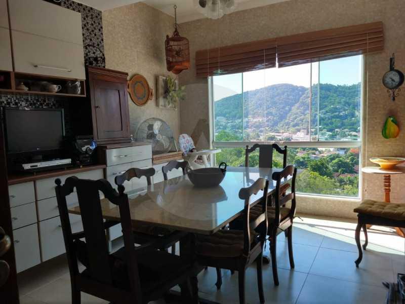 8 Casa Condomínio Itaipu - Imobiliária Agatê Imóveis vende ou permuta Casa em Condomínio de 142 m² Itaipu - Niterói por 1.200 mil reais. - HTCN30033 - 9