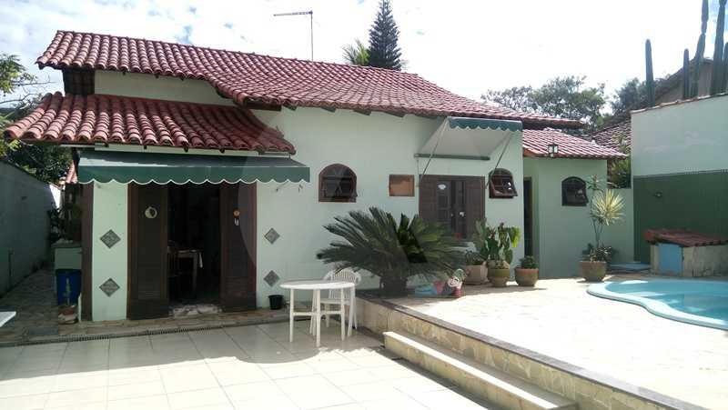 22 - Fachada Fundos - Imobiliária Agatê Imóveis vende Casa de 160 m² Itaipu - Niterói por 750 mil reais. - HTCA30059 - 1