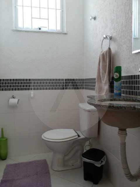 6 - Lavabo - Imobiliária Agatê Imóveis vende Casa de 98 m² Itaipu - Niterói por 420 mil reais. - HTCA30064 - 8