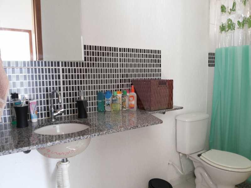 14 - Banheiro Social - Imobiliária Agatê Imóveis vende Casa de 98 m² Itaipu - Niterói por 420 mil reais. - HTCA30064 - 16