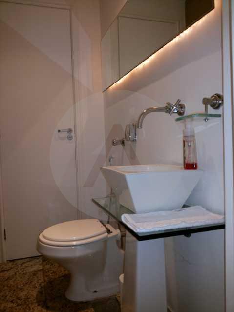 13 - Lavabo - Imobiliária Agatê Imóveis vende Casa em Condomínio de 560m² Piratininga - Niterói por 3 Milhões - HTCN40025 - 8
