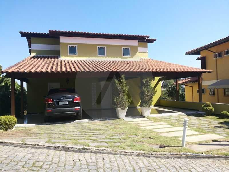 1 - Fachada - Imobiliária Agatê Imóveis vende Casa em Condomínio de 560m² Piratininga - Niterói por 3 Milhões - HTCN40025 - 3