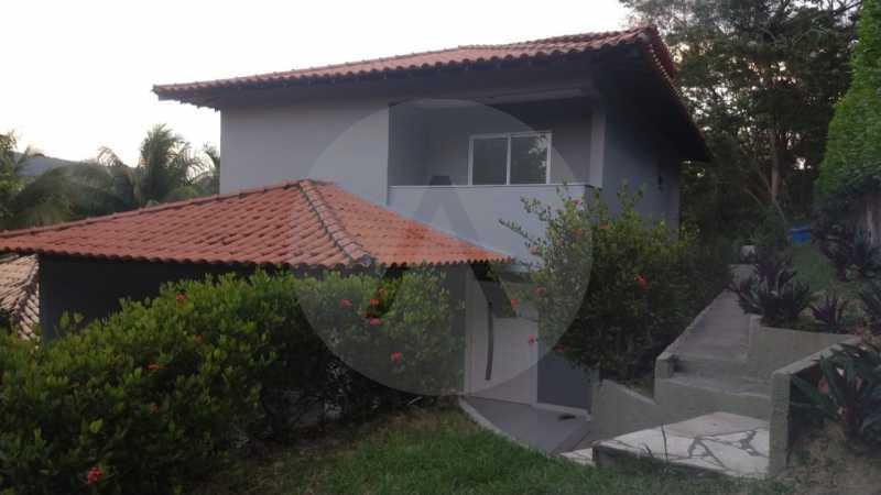 1 Casa Condomínio Itaipu. - Imobiliária Agatê Imóveis vende casa em condomínio de 215m² por R 760.000 - Itaipu - Niterói/RJ - HTCN40001 - 1