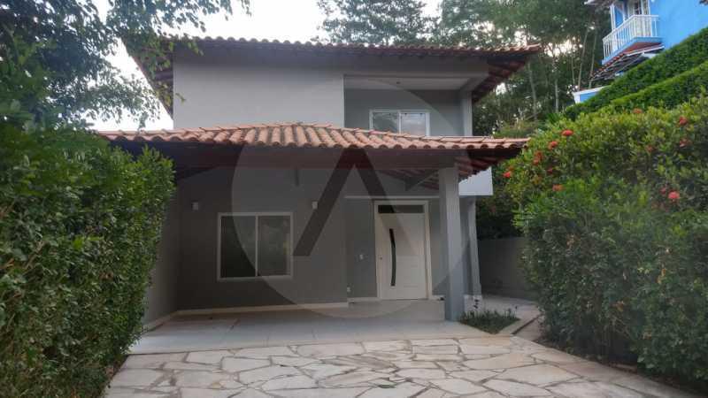 2 Casa Condomínio Itaipu. - Imobiliária Agatê Imóveis vende casa em condomínio de 215m² por R 760.000 - Itaipu - Niterói/RJ - HTCN40001 - 3