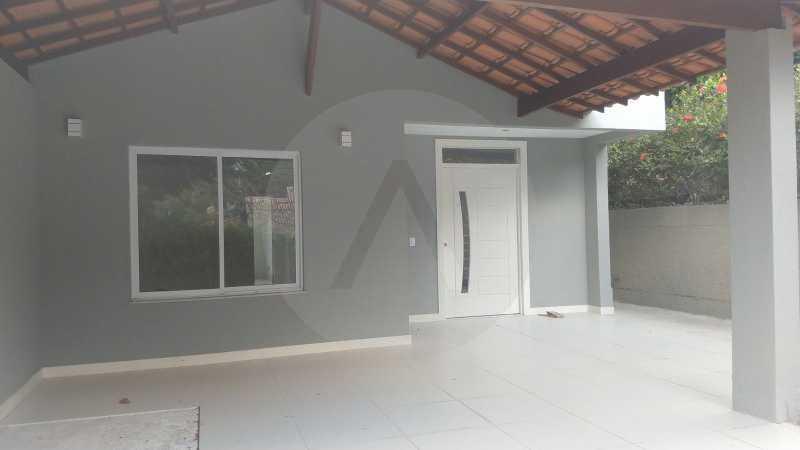 3 Casa Condomínio Itaipu. - Imobiliária Agatê Imóveis vende casa em condomínio de 215m² por R 760.000 - Itaipu - Niterói/RJ - HTCN40001 - 4