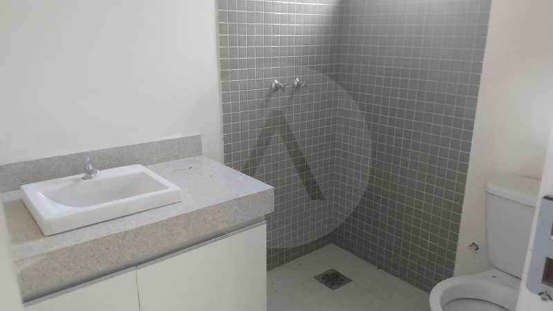 10 Casa Condomínio Itaipu. - Imobiliária Agatê Imóveis vende casa em condomínio de 215m² por R 760.000 - Itaipu - Niterói/RJ - HTCN40001 - 11