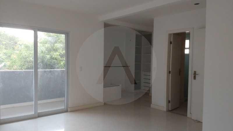 11 Casa Condomínio Itaipu. - Imobiliária Agatê Imóveis vende casa em condomínio de 215m² por R 760.000 - Itaipu - Niterói/RJ - HTCN40001 - 12