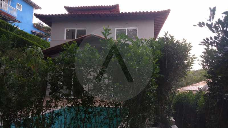 25 Casa Condomínio Itaipu. - Imobiliária Agatê Imóveis vende casa em condomínio de 215m² por R 760.000 - Itaipu - Niterói/RJ - HTCN40001 - 26